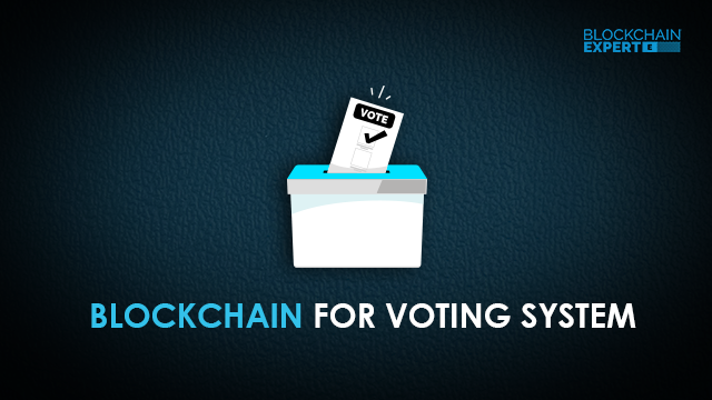 Blockchain for Voting and Elections
