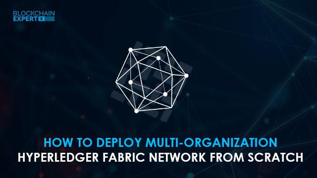 How to Deploy Multi-organization Hyperledger Fabric Network from Scratch