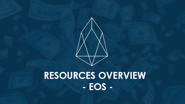 Resources Overview - EOS